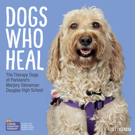 Dogs Who Heal Wall Calendar 2021 - cover