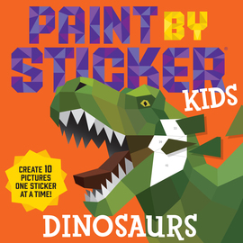 Paint by Sticker Kids: Dinosaurs - cover