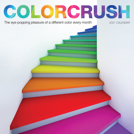 Colorcrush Wall Calendar 2021 - cover