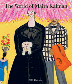 The World of Maira Kalman Wall Calendar 2021 - cover