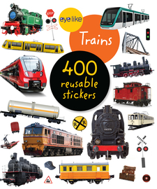 Eyelike Stickers: Trains - cover