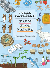 Julia Rothman: Farm, Food, Nature Engagement Calendar 2021 - cover