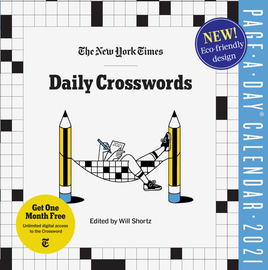 The New York Times Daily Crosswords Page-A-Day Calendar for 2021 - cover
