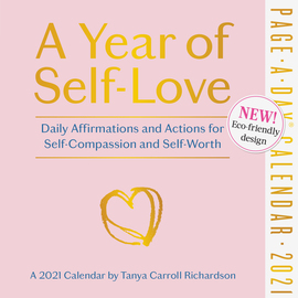 A Year of Self-Love Page-A-Day Calendar 2021 - cover
