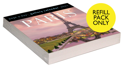 Paris Page-A-Day Gallery Calendar 2021 Refill Pack - cover