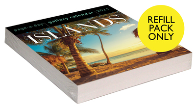 Islands Page-A-Day Gallery Calendar 2021 Refill Pack - cover