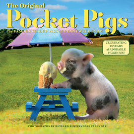 The Original Pocket Pigs Wall Calendar 2022 - cover