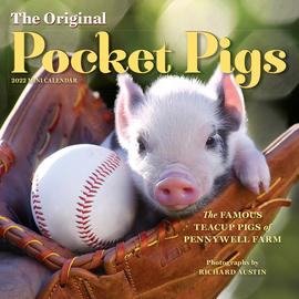 The Original Pocket Pigs Mini Wall Calendar 2022 - cover
