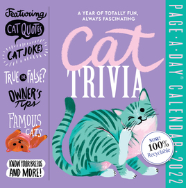 Cat Trivia Page-A-Day Calendar 2022 - cover