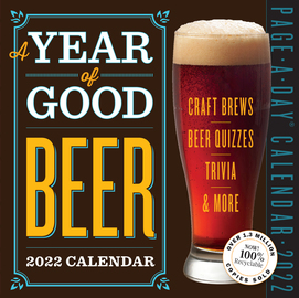 Year of Good Beer Page-A-Day Calendar 2022 - cover