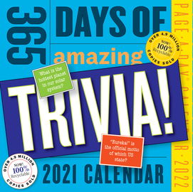 365 Days of Amazing Trivia! Page-A-Day Calendar 2022 - cover