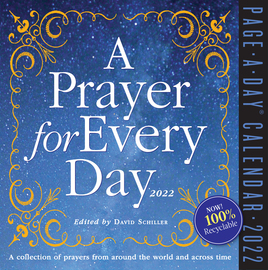 A Prayer for Every Day Page-A-Day Calendar 2022 - cover