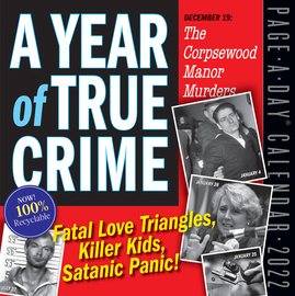 A Year of True Crime Page-A-Day Calendar 2022 - cover