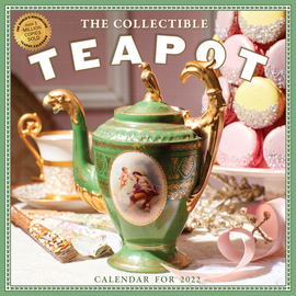 Collectible Teapot & Tea Wall Calendar 2022 - cover