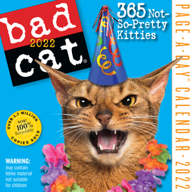 Bad Cat Page-a-Day Calendar 2022 - cover
