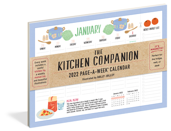 The Kitchen Companion Page-A-Week Calendar 2022 - cover