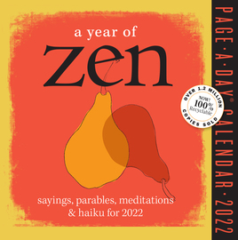 A Year of Zen Page-A-Day Calendar 2022 - cover