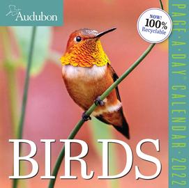 Audubon Birds Page-A-Day Calendar 2022 - cover