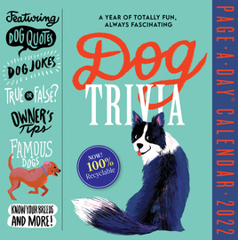 Dog Trivia Page-A-Day Calendar 2022 - cover