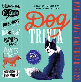Dog Trivia Page-A-Day Calendar 2022 - cover