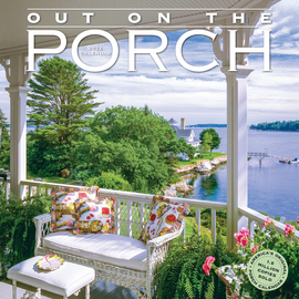 Out on the Porch Wall Calendar 2022 - cover
