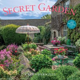 Secret Garden Wall Calendar 2022 - cover