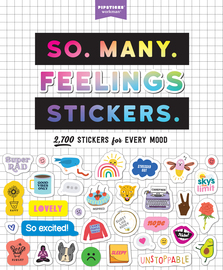 So. Many. Feelings Stickers. - cover