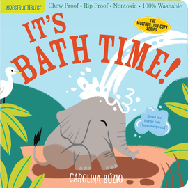 Indestructibles: It's Bath Time! - cover