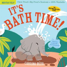 Indestructibles: It's Bath Time! - cover