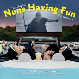 Nuns Having Fun Wall Calendar 2022 - cover