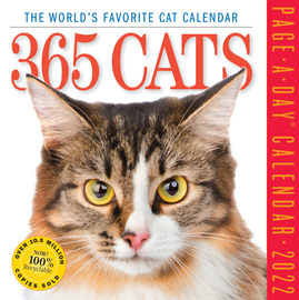 365 Cats Page-A-Day Calendar 2022 - cover