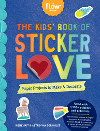 The Kids' Book of Sticker Love - cover