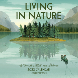 Living in Nature Wall Calendar 2022 - cover
