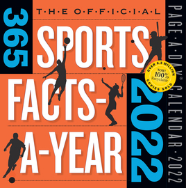 Official 365 Sports Facts-A-Year Page-A-Day Calendar 2022 - cover