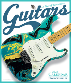 Guitars Wall Calendar 2022 - cover