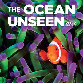 Ocean Unseen Wall Calendar 2022 - cover