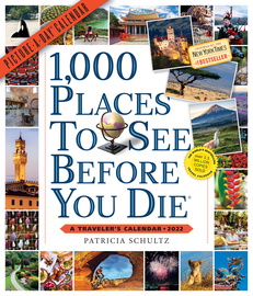 1,000 Places to See Before You Die Picture-A-Day Wall Calendar 2022 - cover