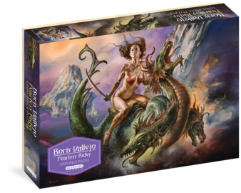 Boris Vallejo Fearless Rider 1,000-Piece Puzzle - cover