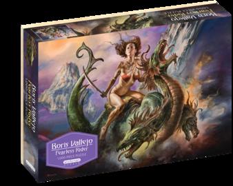 Boris Vallejo Fearless Rider 1,000-Piece Puzzle - cover