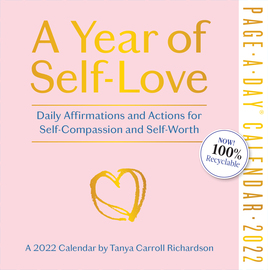 A Year of Self-Love Page-A-Day Calendar 2022 - cover