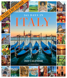 365 Days in Italy Picture-A-Day Wall Calendar 2022 - cover