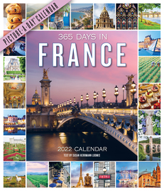 365 Days in France Picture-A-Day Wall Calendar 2022 - cover