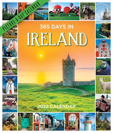 365 Days in Ireland Picture-A-Day Wall Calendar 2022 - cover