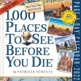 1,000 Places to See Before You Die Page-A-Day Calendar 2022 - cover