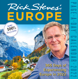 Rick Steves' Europe Page-A-Day Calendar 2022 - cover