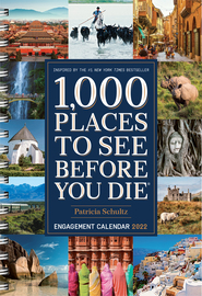 1,000 Places to See Before You Die Engagement Calendar 2022 - cover