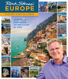 Rick Steves' Europe Picture-A-Day Wall Calendar 2022 - cover