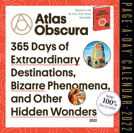 Atlas Obscura Page-A-Day Calendar 2022 - cover