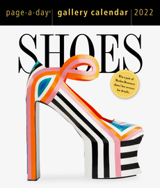 Shoes Page-A-Day Gallery Calendar 2022 - cover