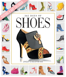365 Days of Shoes Picture-A-Day Wall Calendar 2022 - cover